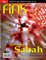 Cover shot Fins magazine